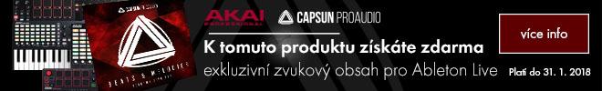 Zvuková knihovna od CAPSUN ProAudio k vybraným produktům AKAI zdarma!
