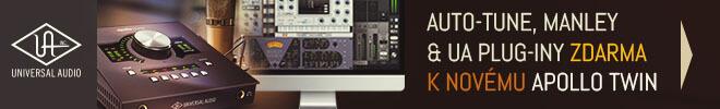 Auto-Tune Realtime, Manley VOXBOX či UA Reverb zdarma k Apollo Twin