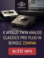 Analog Classic Pro Bundle zdarma k Apollo Twin mk2 a USB