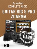 NI Guitar Rig 5 Pro ZDARMA ke kartám Komplete Audio