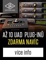 Až 10 UAD pluginů zdarma navíc