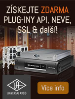 Neve, SSL nebo API UAD-2 plug-iny zdarma k DSP kartám Universal Audio